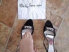 Russian sexy high heels sandals