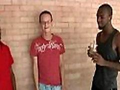 Muscular black dudes fuck gay white twink boys 29