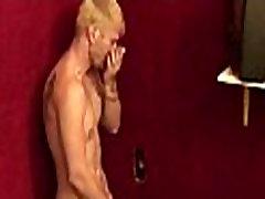 Gay gloryholes and gay handjobs - Nasty wet gay hardcore sex 25