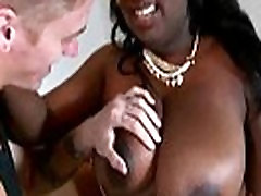 Big booty ebony gets her pussy licked and fucked