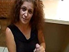 Mature Lady Handjob In A Hotel Room