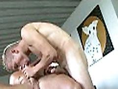 Explicit gay oral pleasure