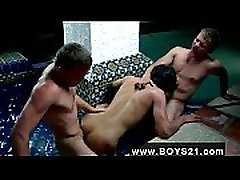 Amazing twinks Two, hot, naked, college, frat folks invite a cute,