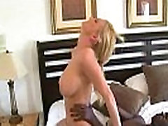 Mature lady gags and gets banged by a black cock 24