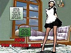 3D Comic: Fufu. Episodes 1-4