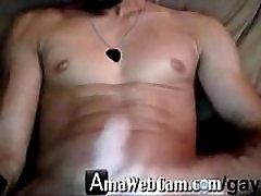 Guy Cums Twice on Webcam - AmaWebCam.comgay