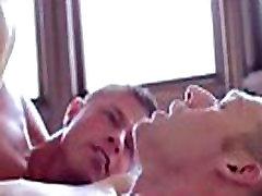 Romantic gay anal hunks
