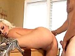 Big titted blonde model skank screwed on pooltable