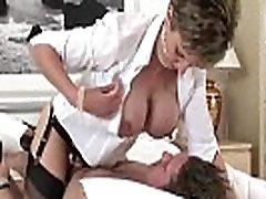 Mature stocking femdom blowjob fuck