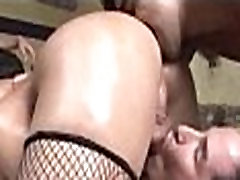 Hot shemale gangbanged and jizzed on