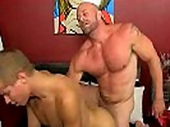 Muscular tough twink is fucking a smooth twinks ass