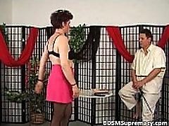 Old mature slut likes punishing during