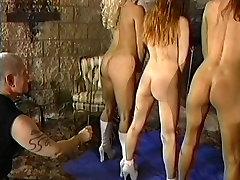 Trio of sexy german free ordy slaves get spanked
