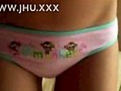 Non-Nude Teen Pantie Tease