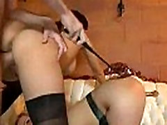 Bdsm orgy with two sexy bitches