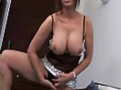 Slutty mature mom with big tits loves