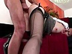 Mature british lady in stockings fucks Jim Slip