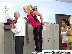 Cfnm group of ladies gets naughty