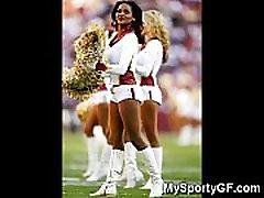 Real Teen Cheerleaders!