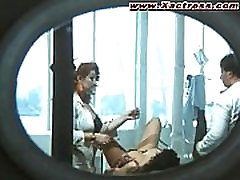 Actress Deborah Caprioglio in oral sex scene