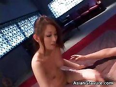 Beautiful asian slut gets bukakke after part5