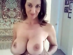 Busty Russian Wife Teases with Big Bouncy Love Bubbles
