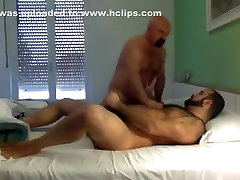 Hot Session with a hairy Bear