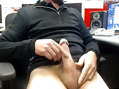 Alluring male is jerking off at home and memorializing himself on camera