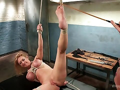 Hottest bdsm, lesbian adult clip with amazing pornstar Lorelei Lee from Whippedass