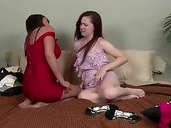 Exotic pornstars Bella Roxx and Annabelle Lee in horny redhead, big tits adult scene