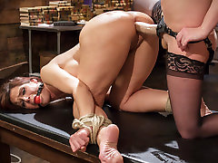 Amazing milf, bdsm sex scene with incredible pornstars Syren de Mer and Cherry Torn from Whippedass