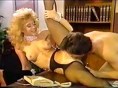 Dana Lynn, Nina Hartley, Ray Victory in camel toe horny porn scene