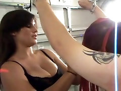 Mikaela whips Bad Ass