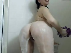 Shower With This Large Tit Curvy Lady