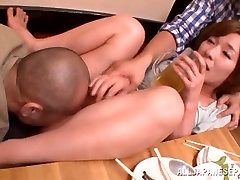 Kaho Kasumi hot mature Asian lady has sex in public