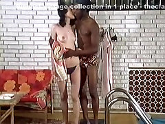 Hottest vintage sex star in classic porn scene