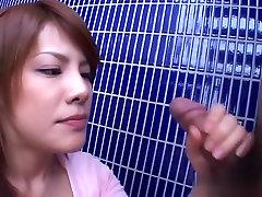 Fabulous Japanese chick Sara Nakamura in Incredible JAV uncensored Blowjob video