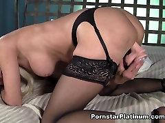 Erica Lauren in Black Stockings Play - PornstarPlatinum