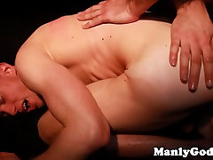 Romantic gay hunk entangled while sixtynining