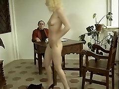 Crazy pornstar in exotic stockings, vintage sex clip