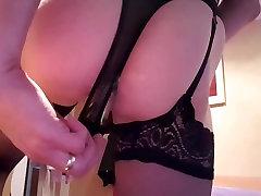 Hot crossdresser masturbating 4 - the tease.