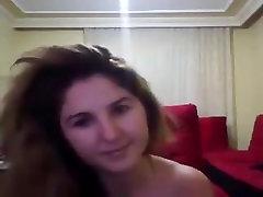 Turkish Mature slut Webcam show Fuck Suck