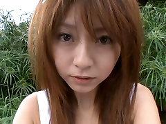 Sweet Asian chick Mika Orihara demonstrates her body in bikini