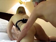 Russian MILF Tania the Big Tit Blonde Passionate Fuck