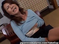 Mina Toujou horny Asian housewife likes her sons friends cock