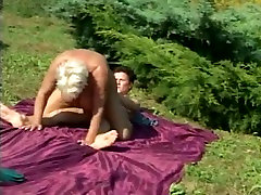 Hairy bulky grannies fuck like champs