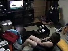 Caught milf masturbating ! Hidden cam