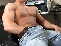 Exotic male pornstar in amazing solo male, masturbation gay sex movie