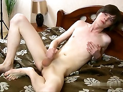 Fabulous male in incredible solo male homosexual porn movie