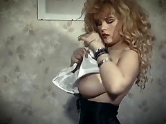 THE SKIN TRADE - vintage 80&039;s big tits blonde strip dance